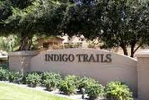 Indigo Trails Entrance