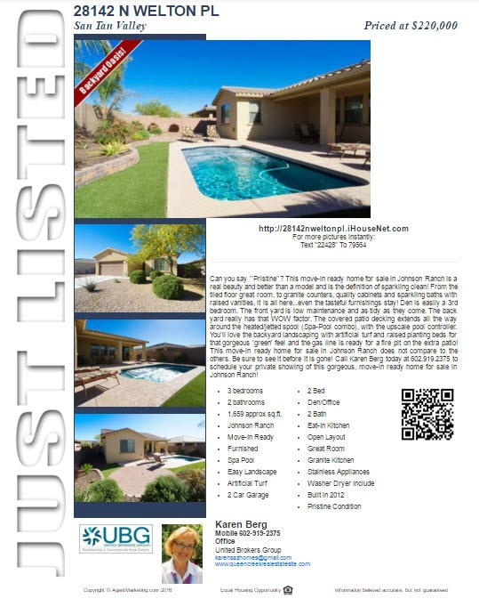 Just Listed Welton