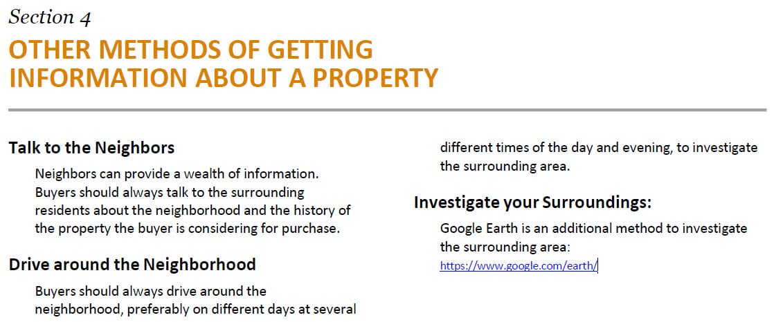 Buyer Advisory Section 4