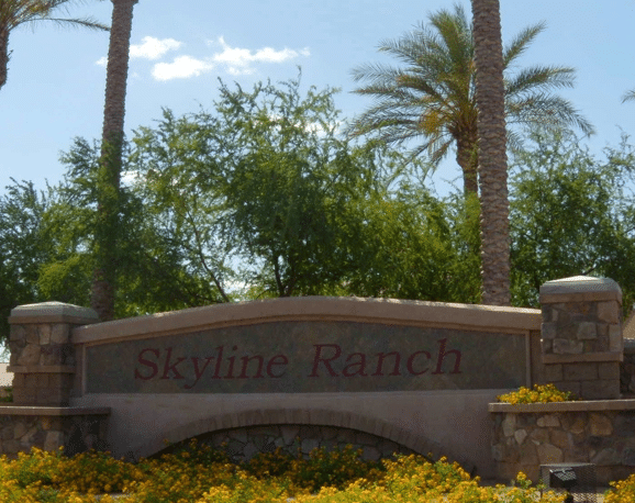 Skyline Ranch Entrance