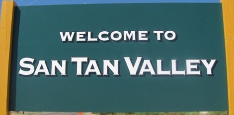 Welcome to San Tan Valley Sign
