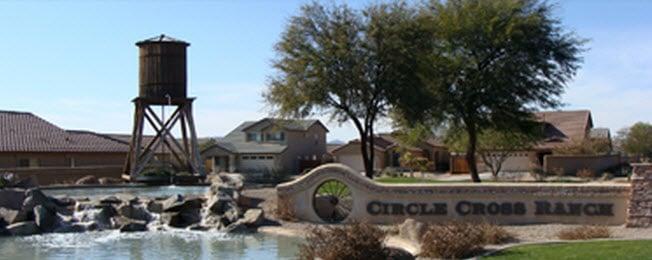 Circle Cross Ranch Entrance