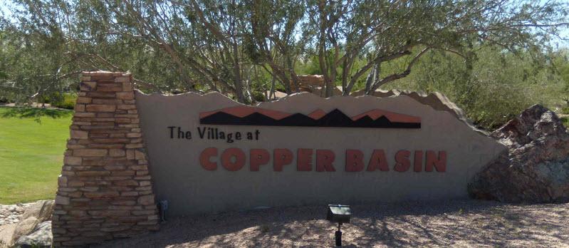 Copper Basin Entrance