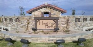 Hastings Farms Entrance