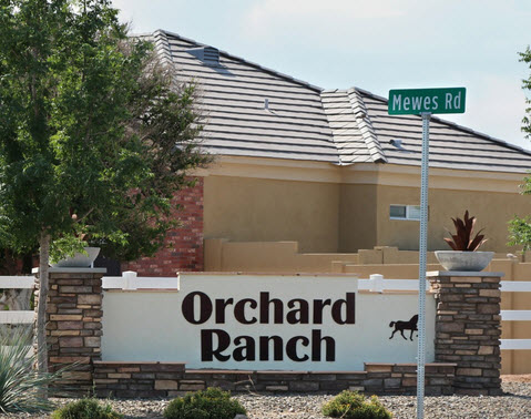 Orchard Ranch Entrance
