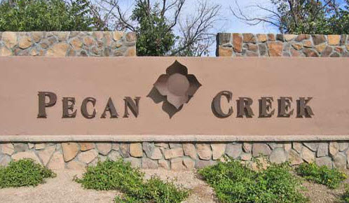 Pecan Creek Entrance