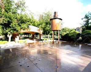 The Pecans splash pad