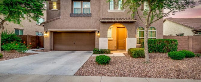 San Tan Heights Exterior Home for Sale