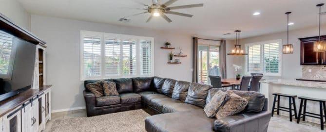 San Tan Heights Living Room Home for Sale