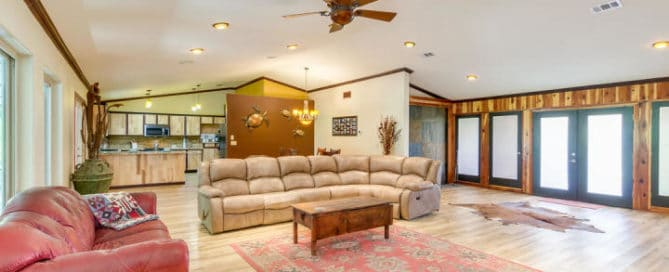 Quince Living Room Home for Sale
