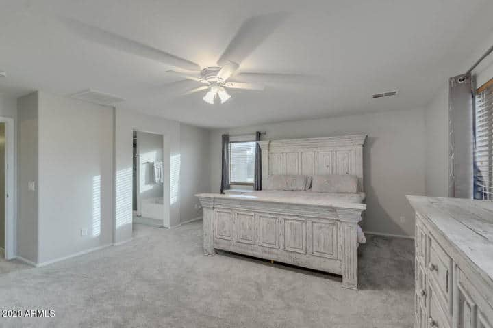 Johnson Ranch Master Bed Home for Sale