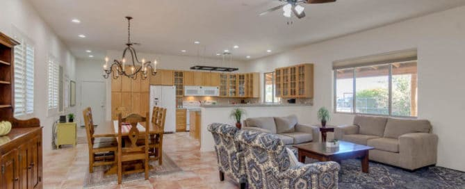 Chandler Heights Living Room Home for Sale