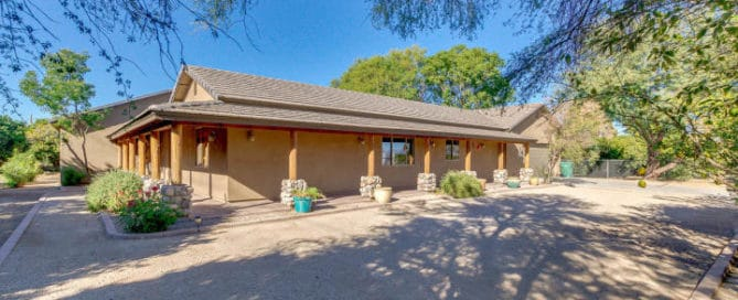 Chandler Heights Exterior Home for Sale